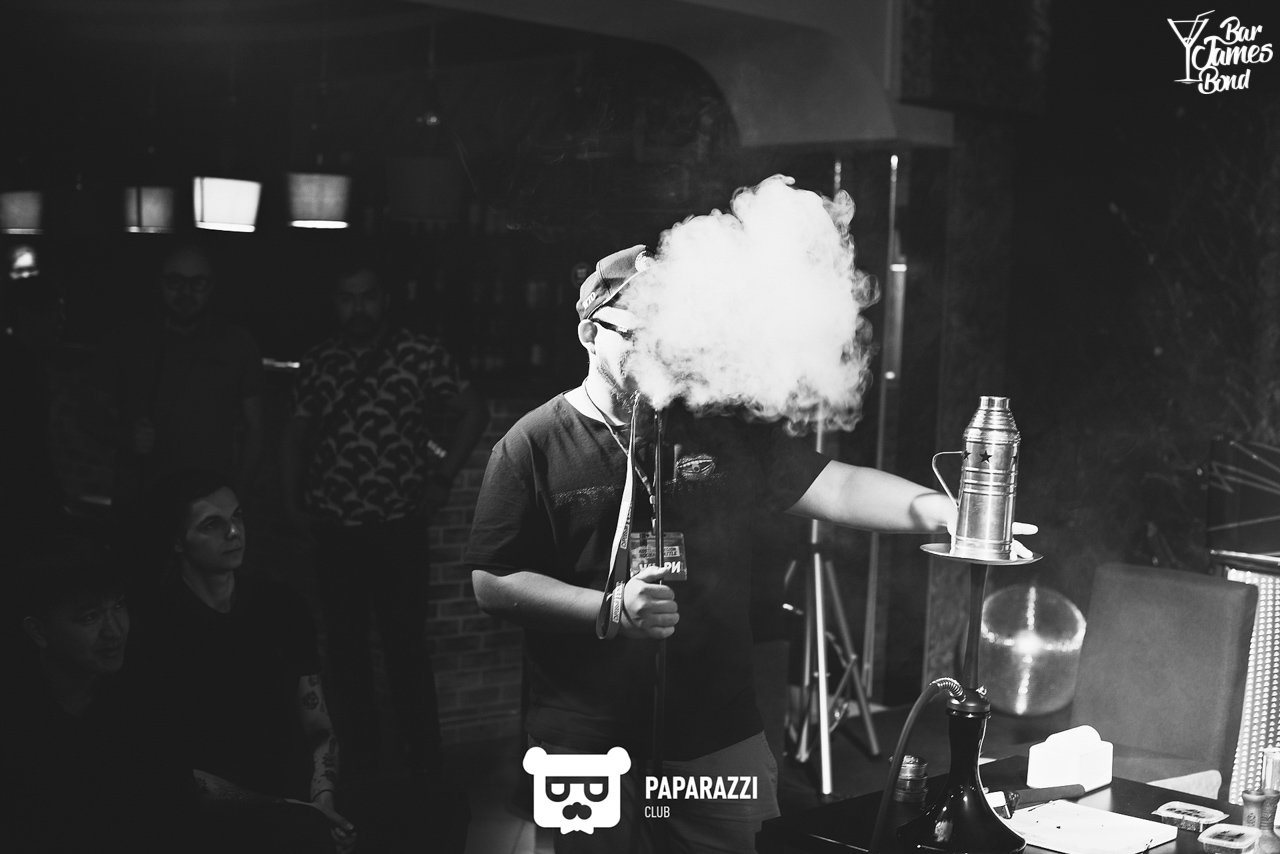 "Bar James Bond | ""KOSTANAY REGION HOOKAH BATTLE"" & МК ""Дава Дым"""